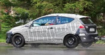 Yeni Ford Fiesta'nın 3 Kapılısı Yakalandı