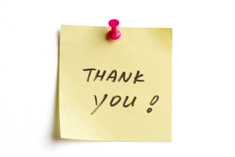 Thank-You Notes The \u201cGlue\u201d Factor For Building Solid  Meaningful - Thank You Note