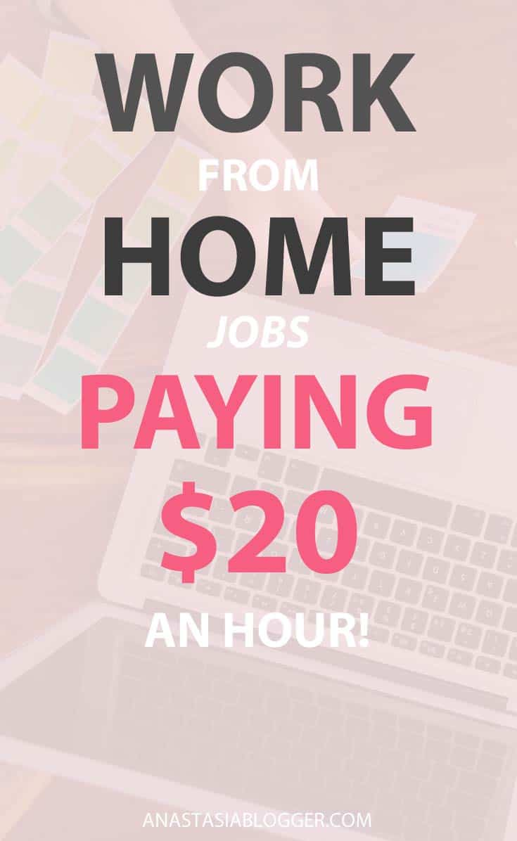 20 Work From Home Jobs Work From Home Jobs Paying 20 An Hour Legit Companies Full Part