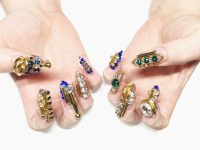 3D Nails - the next big trend in nail art this year 2017