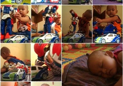 Menemani si kecil mengekspreasikan imajinasinya dalam bermain