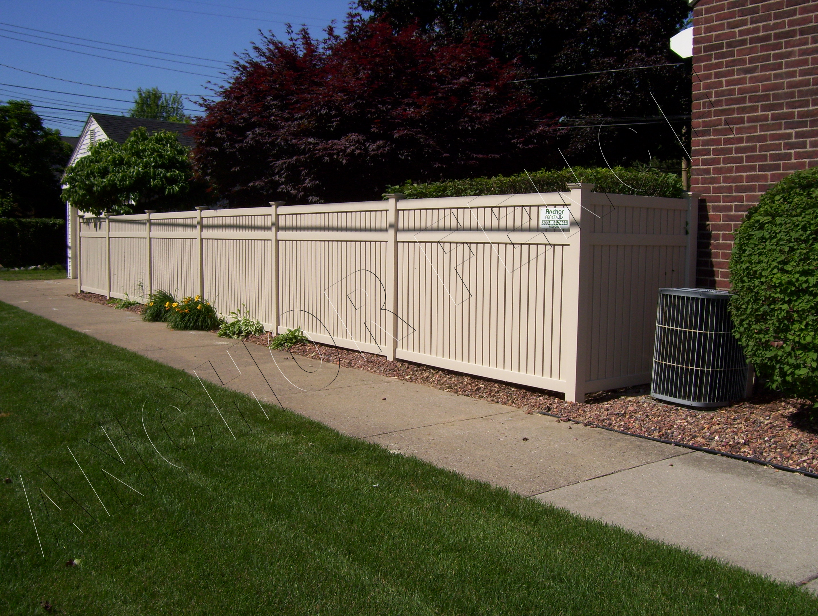 Diy Vinyl Fence Supplies Michigan Anchor Fence And Supply