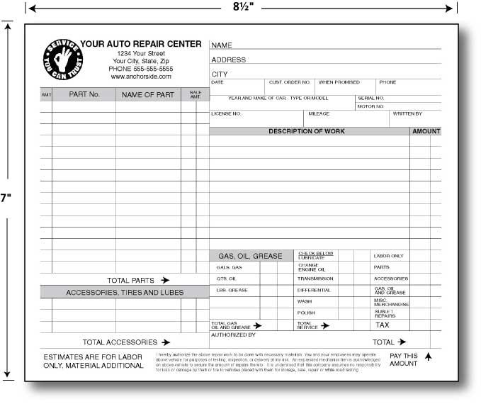 Repair Form Sample Repair Request Form Examples In Word Pdf Repair - vehicle purchase order form