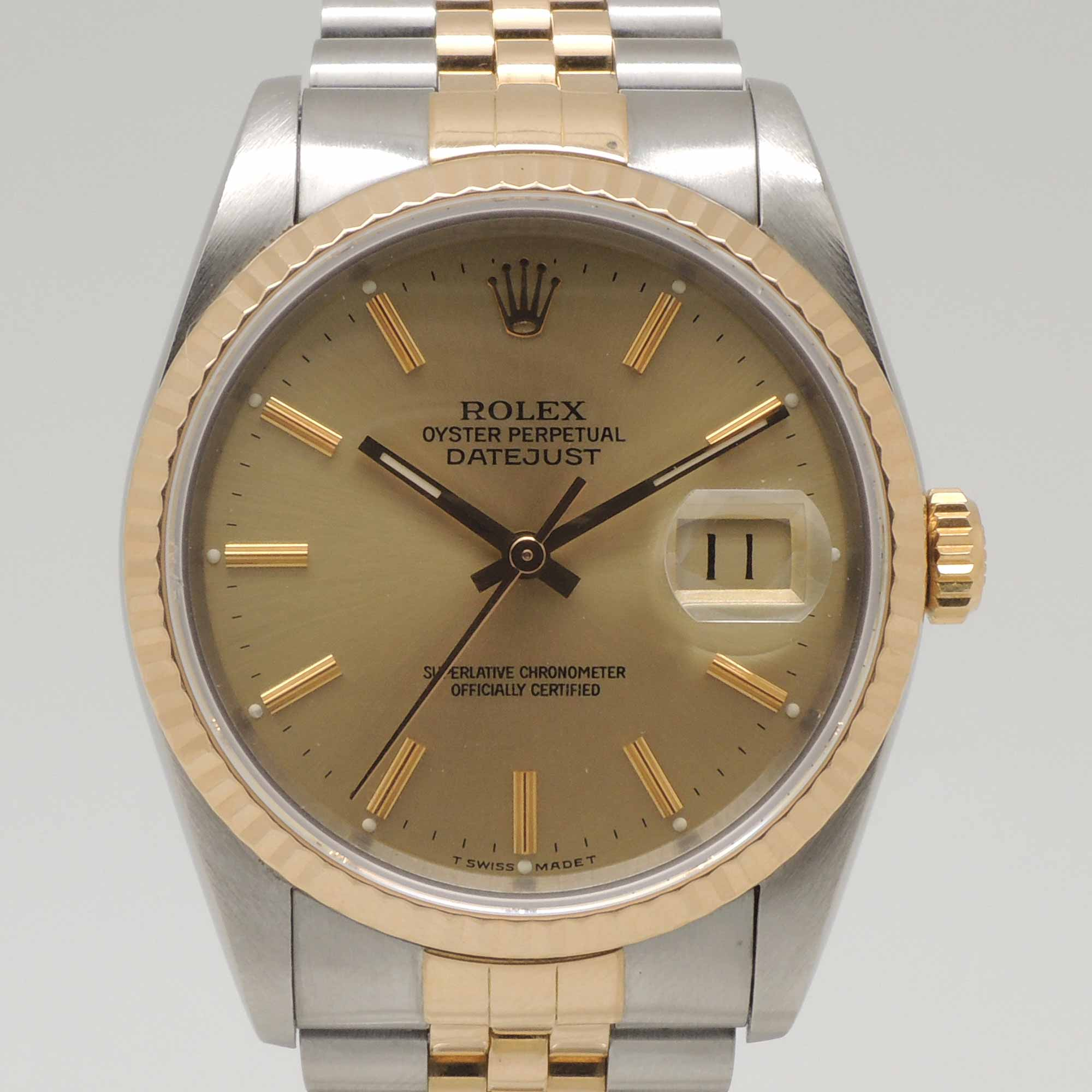 Rolex Second Hand Rolex Datejust 16233 Buy And Sell Second Hand Rolex