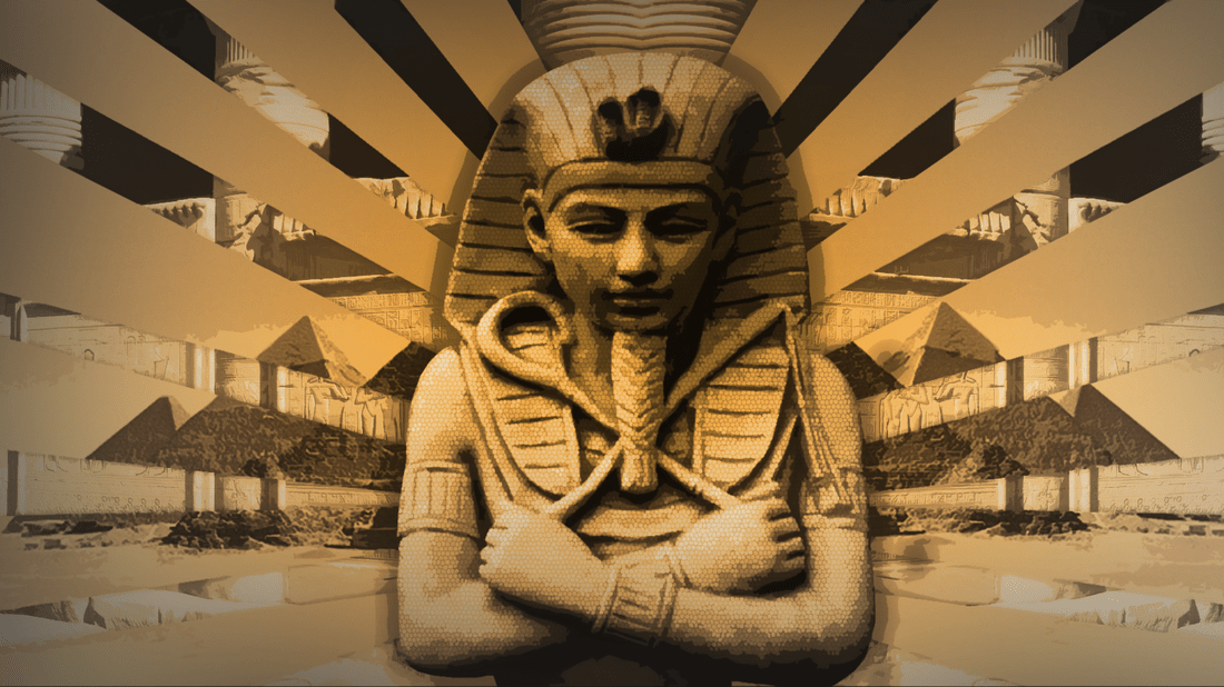 Black Abstract Wallpaper Ancient Egypt Home