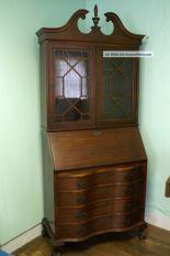 Antique Secretary Desk With Claw Feet