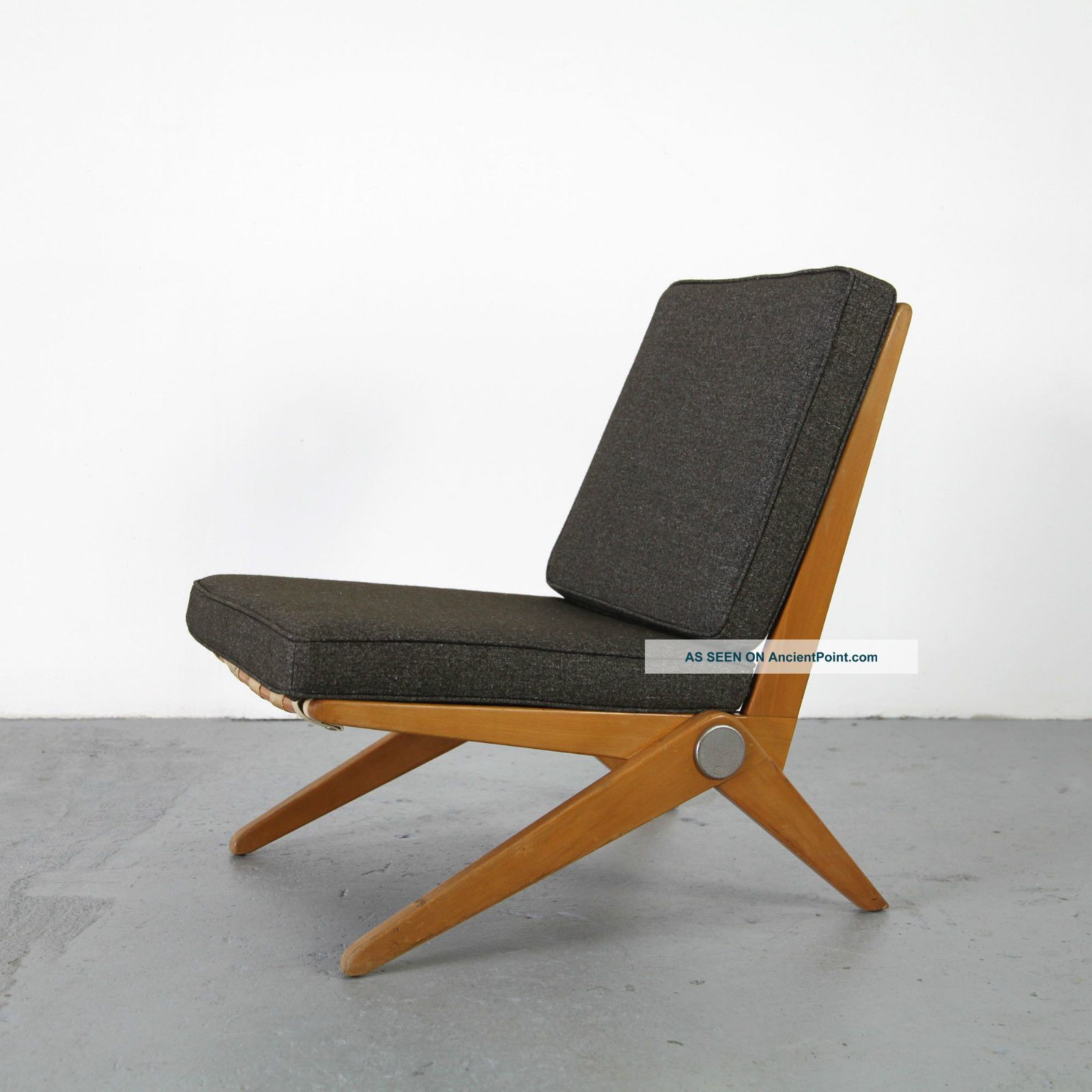 Knoll International Sessel Scissor Chair By Pierre Jeanneret Knoll International 50s Mid