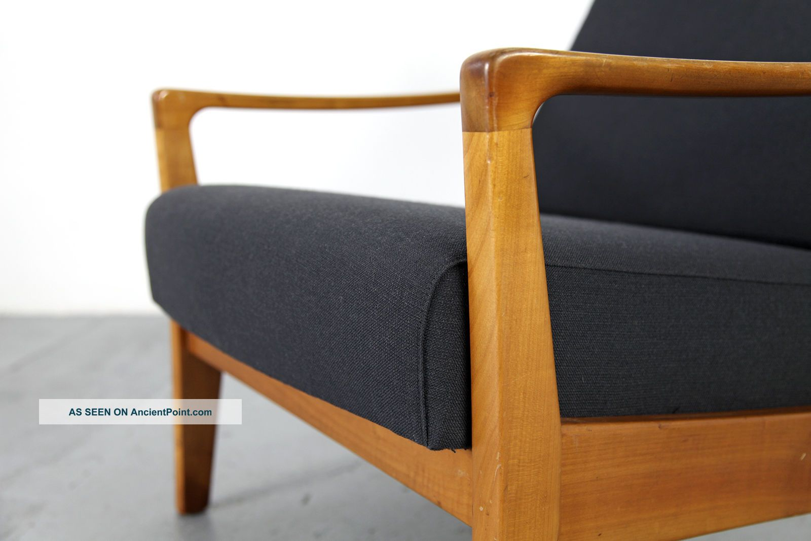 Danish Sessel Mid Century Easy Chair 50s 60s Danish Modern Kirschholz Sessel