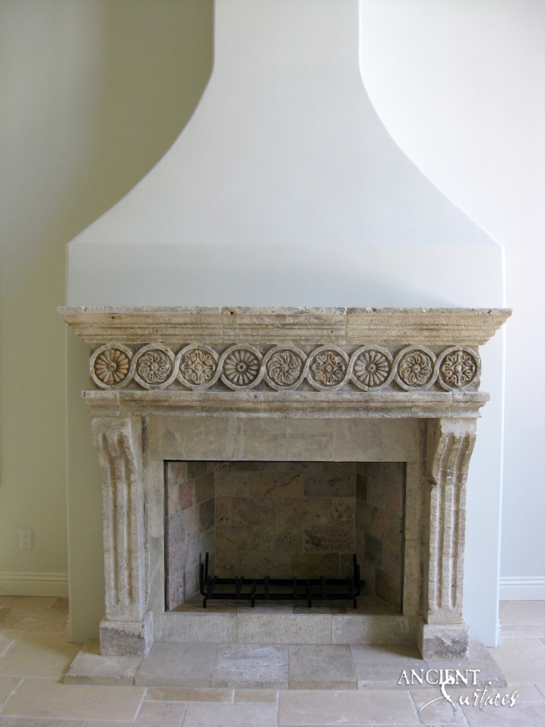 Antique Fireplace Mantels For Sale A Unique Collection Of Antique Stone Fireplace Mantles By Ancient