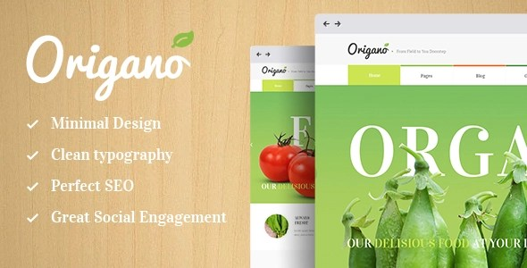 Origano \u2013 Organic Food  Eco Farm Theme \u2013 Ancora Themes Official Website