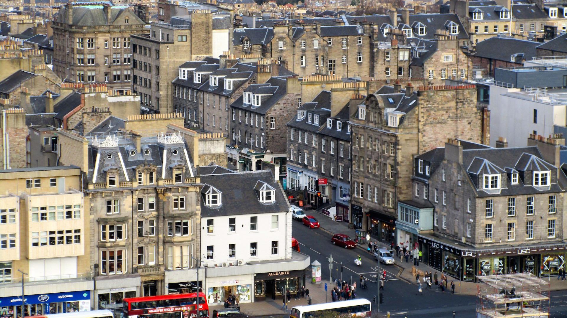 Edinburgh Castle…