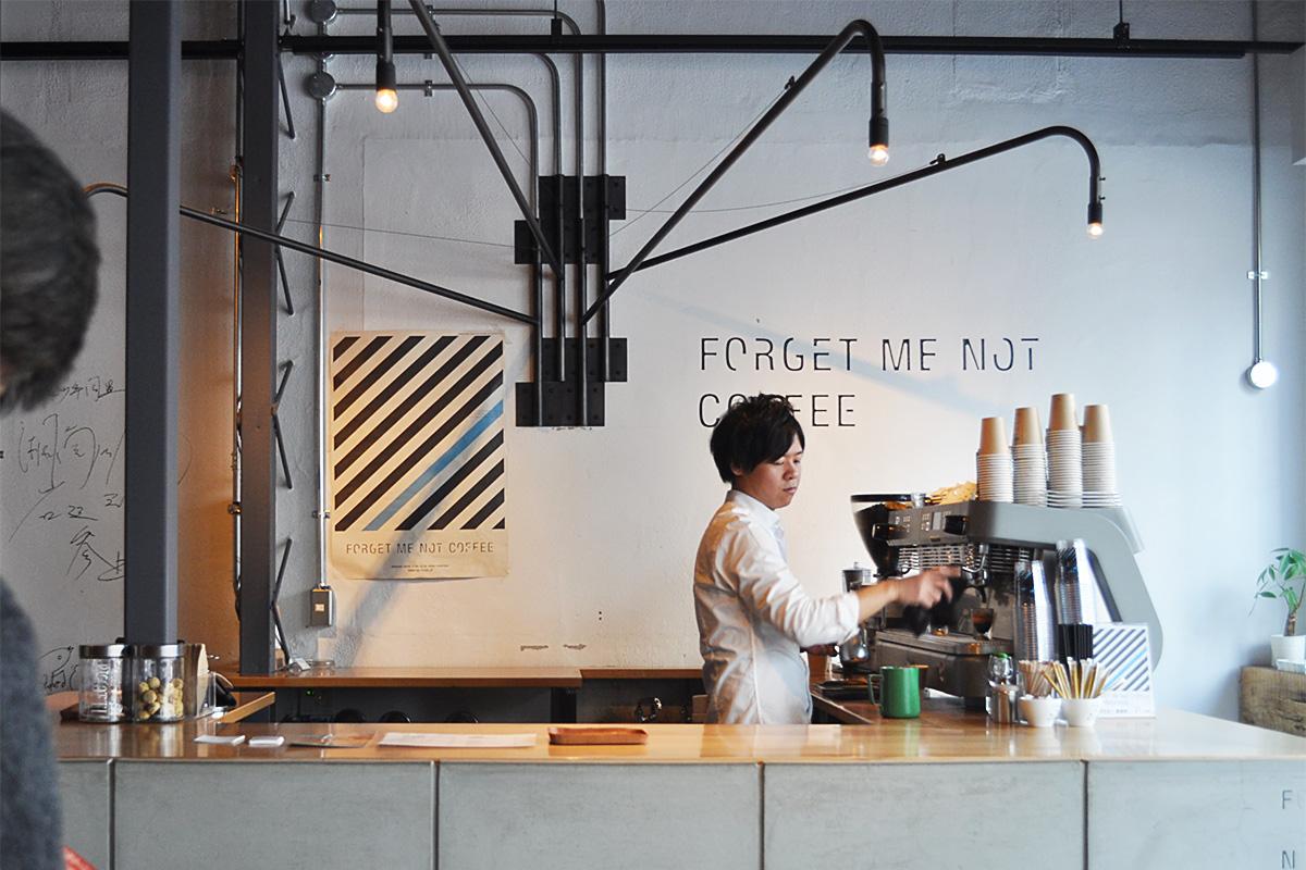 【大阪・梅田】おすすめカフェ・コーヒースタンドまとめ FORGET ME NOT COFFEE 梅田