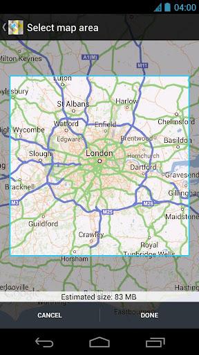 Google Maps na Androida nareszcie z trybem offline!