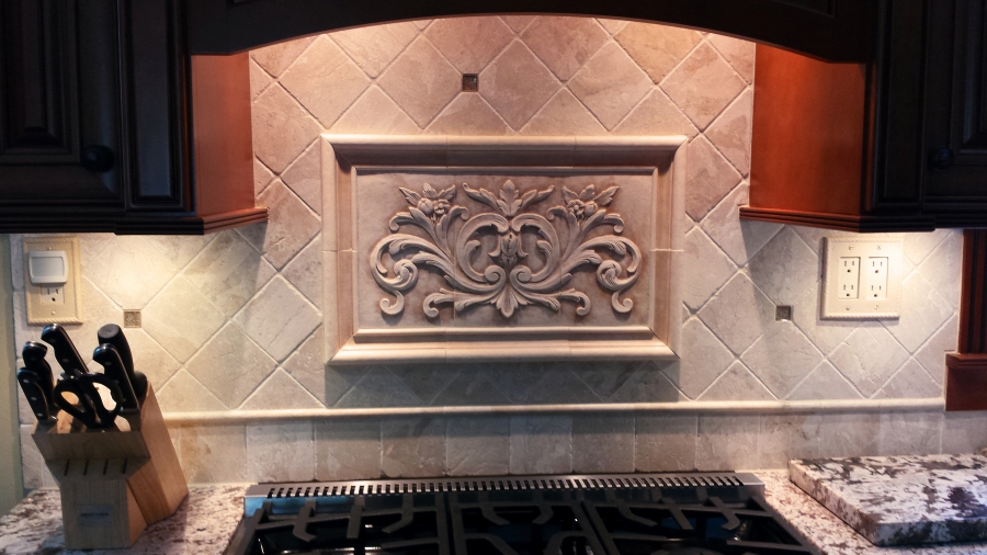 Decorative Tile Borders Installations - Andersen Ceramics