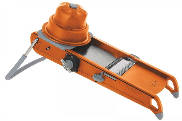 Mandoline Küche De Buyer Mandoline Swing Plus Orange | Schäler & Schneider