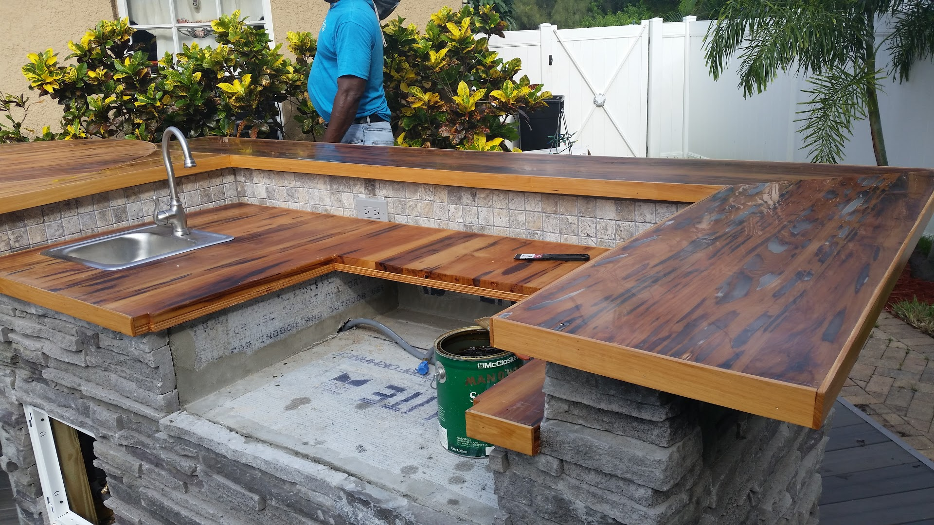 How To Waterproof Wood Countertops Anderson Lumber Company St Petersburg Florida Since 1908