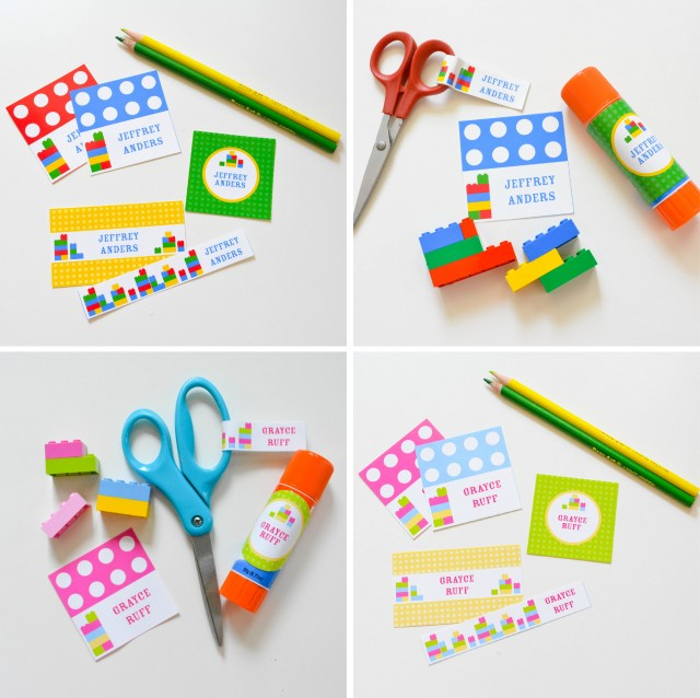 Back to School Printable Labels and DIY Teachers Gifts! - Anders