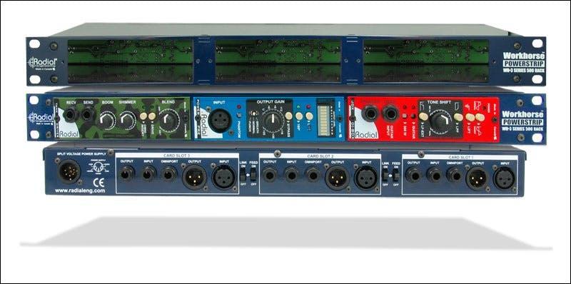 Radial Powerstrip 500 Series 3 Slot Power Rack Andertons