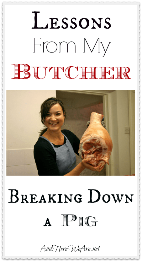 Lessons From My Butcher Breaking Down a Pig