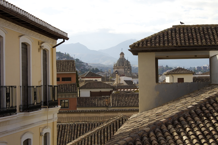 Rooftops Granada, Spain