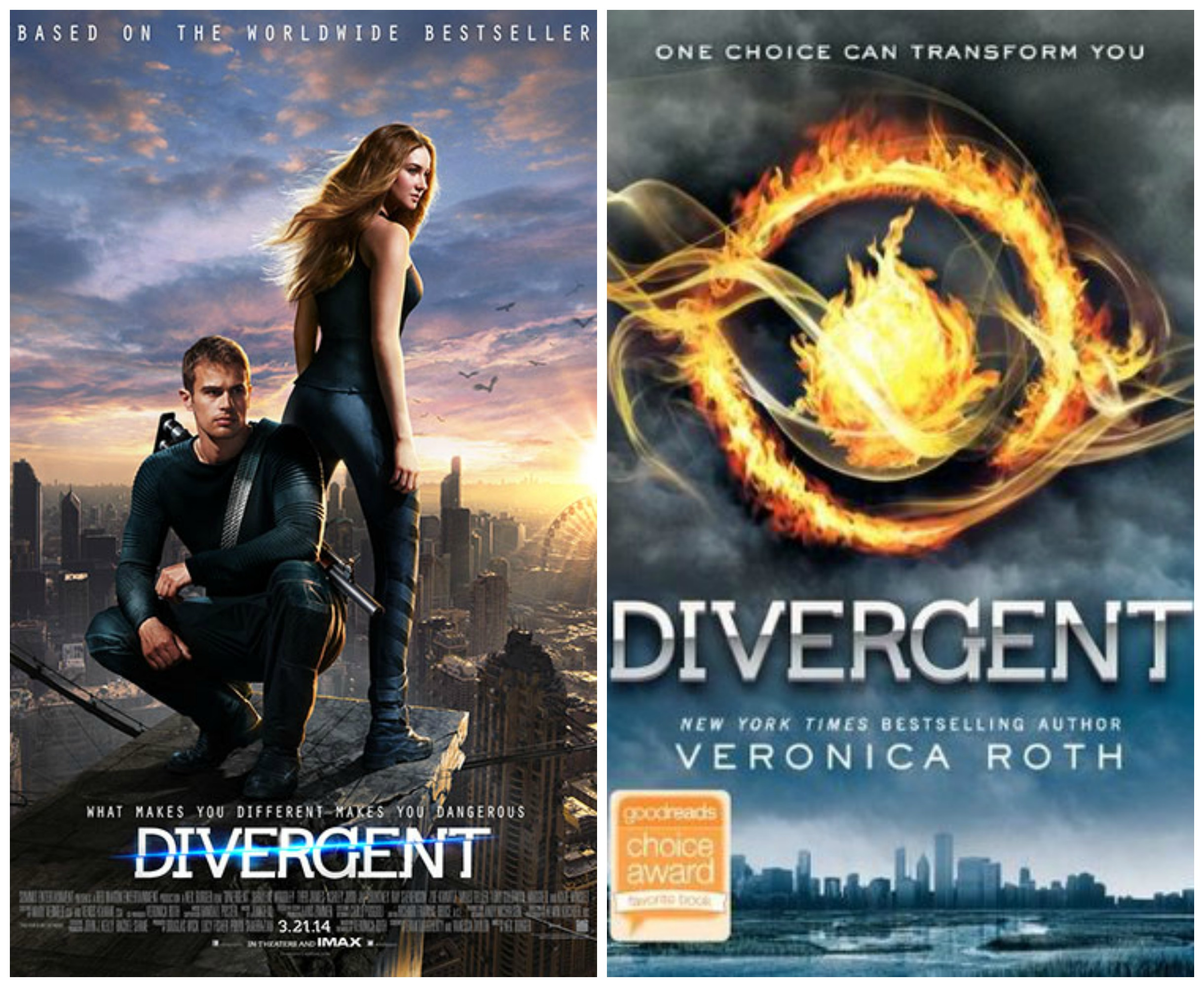 "Divergente Libro Teen Book Vs. Movie Discussion: ""divergent"" (mahwah"
