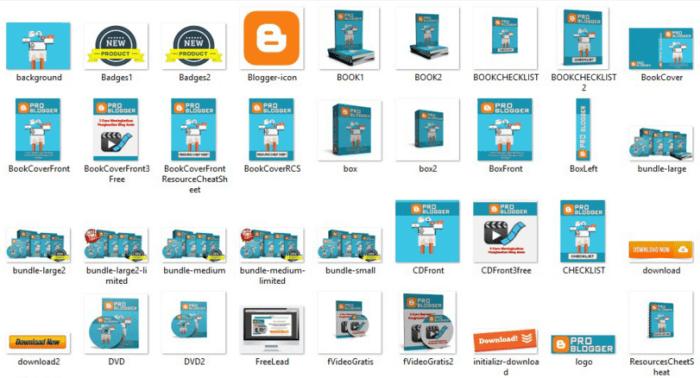 Pro Blogger graphics