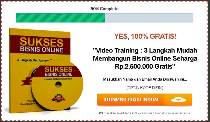 sukses bisnis online optin