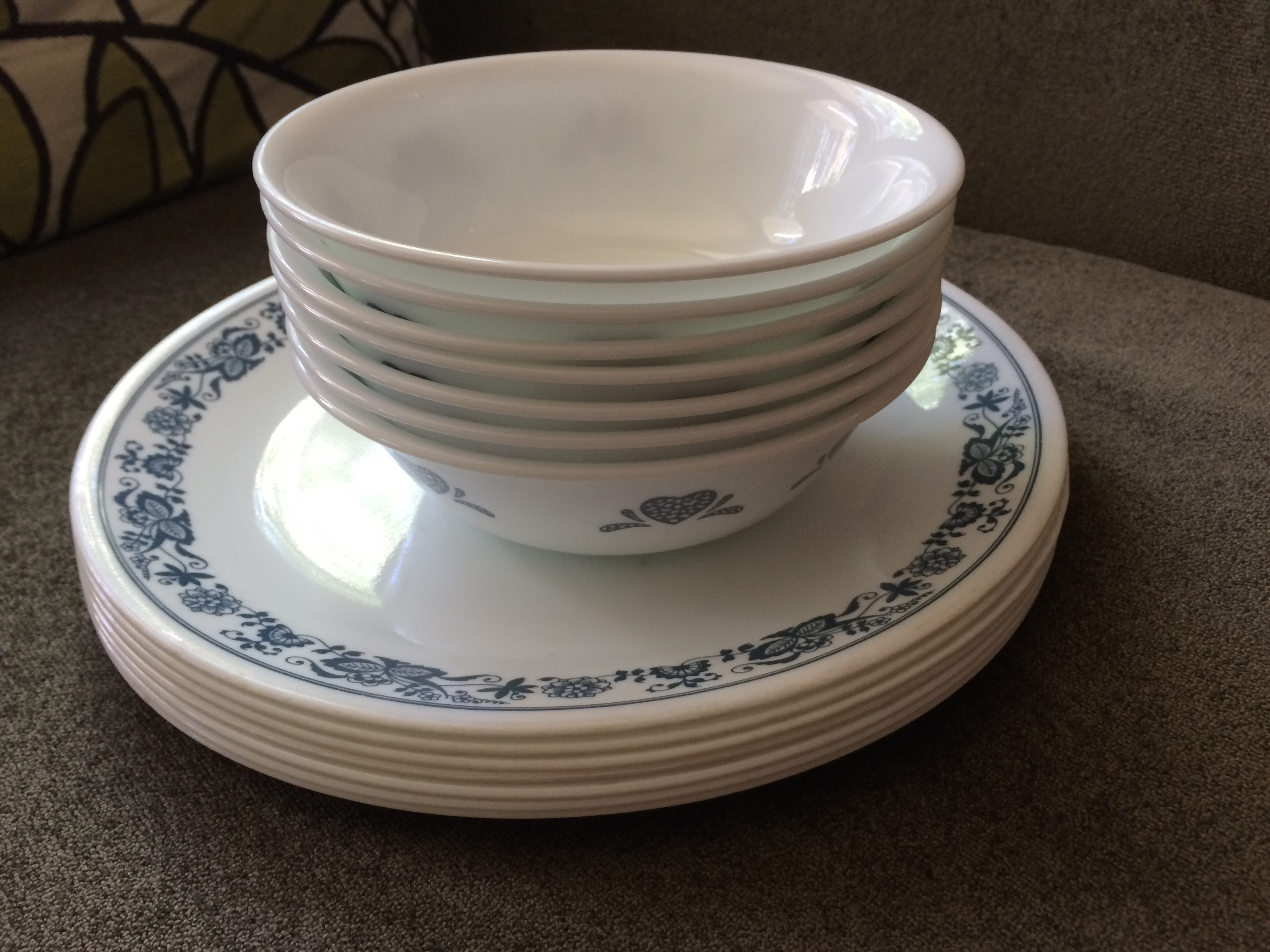 ijkm serving white green country corelle plate large il lavender oval fullxfull cottages platter cottage dishes listing vintage on