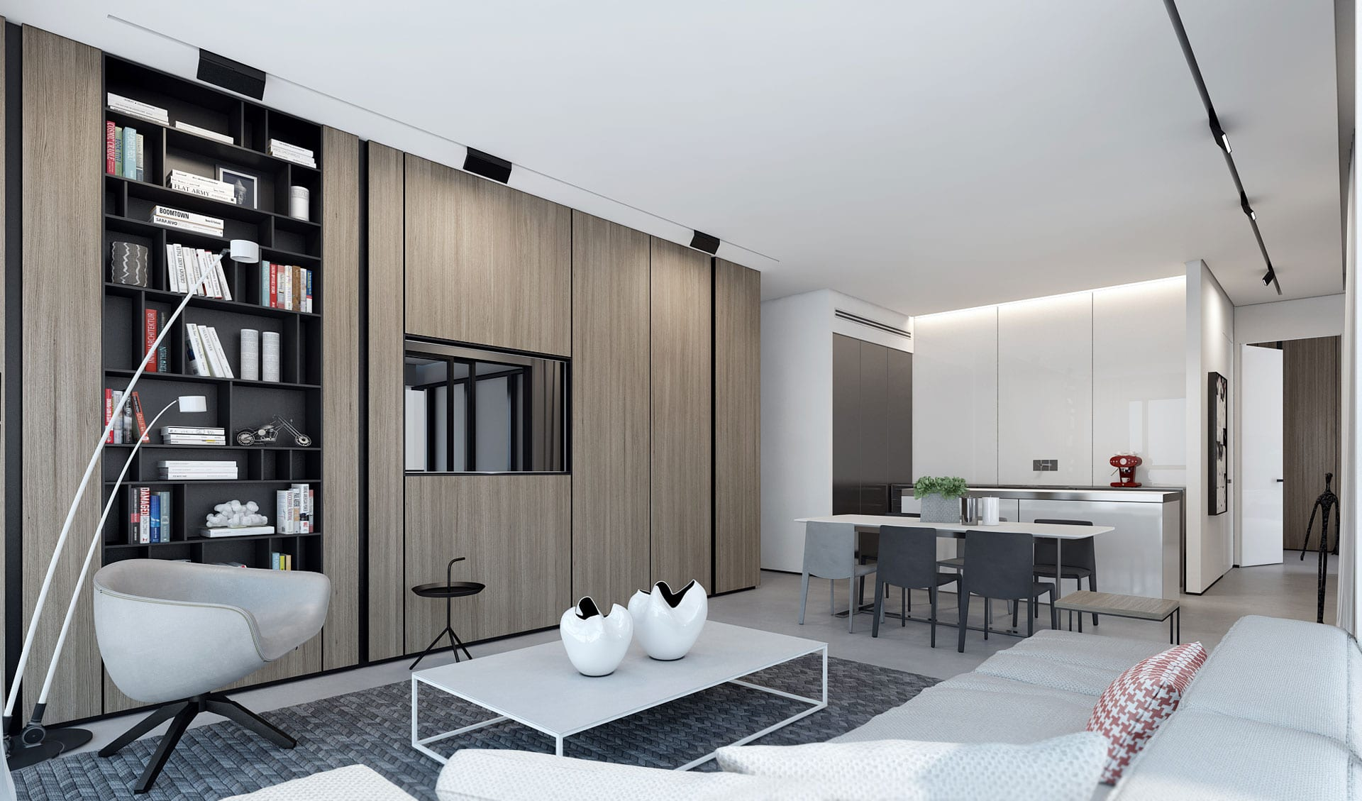Efficiency Apartment Vs Studio White Vs Wood Ando Studio