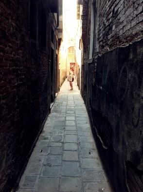 Străduță, în Veneția