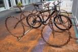 Fahrradständer in Reykjavik