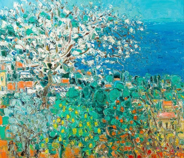 Cottavoz, «Le printemps»