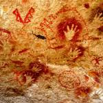 The last time I checked the LMS. Pic of stone age art.