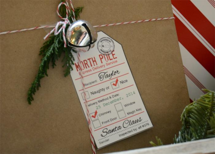 Printable Santa Gift Tags - Andrea\u0027s Notebook