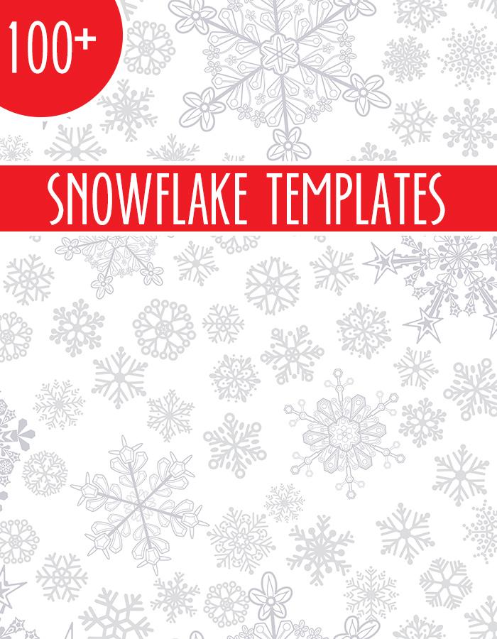 100+ Snowflake Templates
