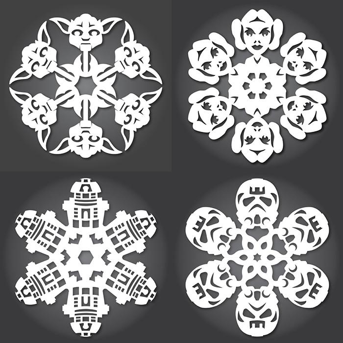 100+ Snowflake Templates - snowflake template