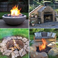 20 Outdoor Fire Pit Tutorials