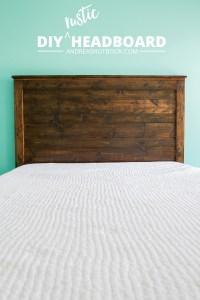 Sweetly Scrapped Home: DIY Rustic Headboard Ideas