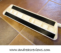 Swift Mop, bottom view of Velcro strips