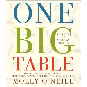 One Big Table, by Molly O'Neill