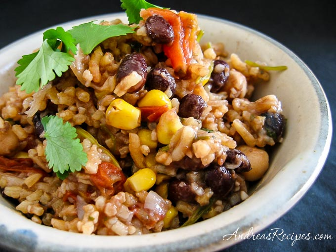 Andrea's Red Rice and Beans