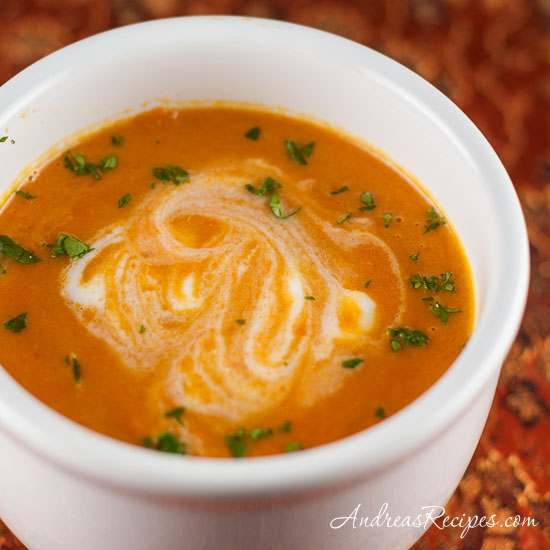 Andrea Meyers - Carrot Ginger Soup