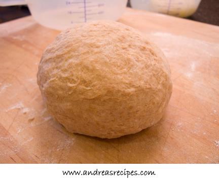 Andrea's Recipes - whole wheat lavash, kneaded