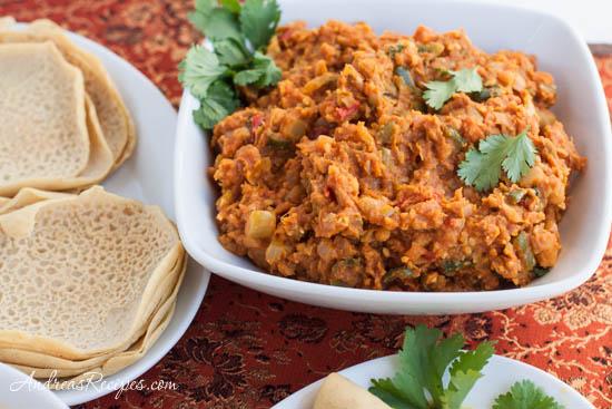 Andrea Meyers - The Daring Cooks Make Vegan Dosas (Curried Garbanzo Filling)
