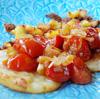 Anne's Food - Crispy Polenta with Mozzarella & Caramelized Cherry Tomatoes