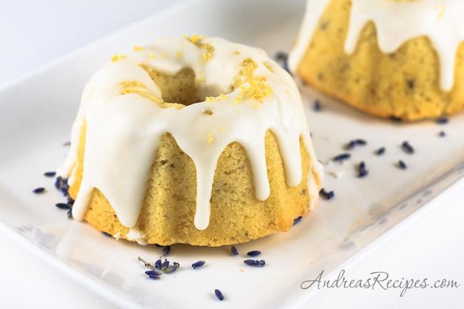Andrea's Recipes - Lavender Pound Cake