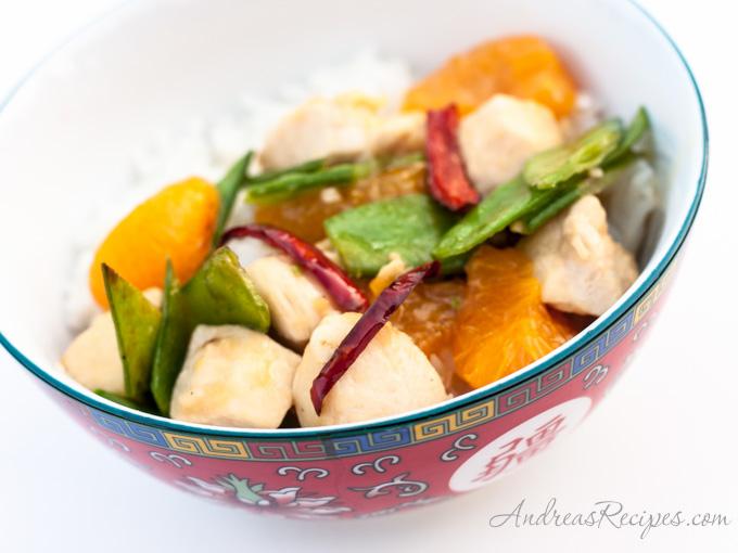 Andrea's Recipes - Quick and Easy Mandarin Orange Chicken