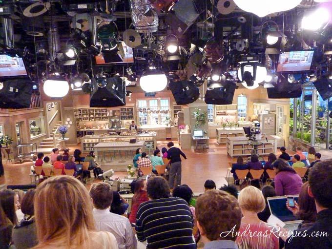 Andrea Meyers - set of the Martha Stewart Show