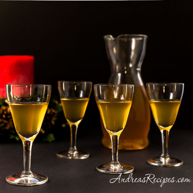 Andrea Meyers - Polish Krupnik (Honey Spiced Vodka) for Christmas Eve