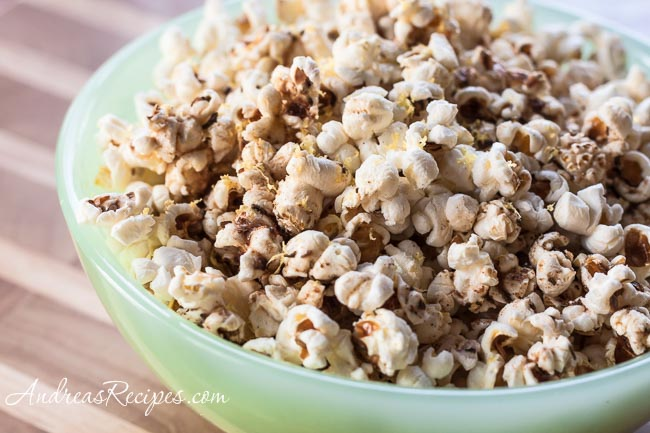 Andrea Meyers - Popcorn with Brown Butter, Rosemary, and Lemon